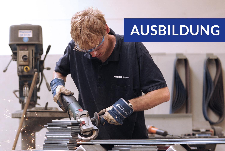 Ausbildung zum Metallbauer (m/w/x)